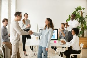 Use employee onboarding as an opportunity to create a lively, welcoming environment.
